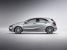 Mercedes Benz A Class Silver Side 2 Mercedes A Class, Mercedes Benz, Frankfurt, Benz A Class, Lease Deals, New Model, Vehicles, Sports, Cars