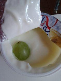Lime yogurt magro #0 #light #natural #milk #lait #latte #fatfree #gooseberry#green I x 100ml;  47k.4/3sugar.3,8protein.2fiber…
