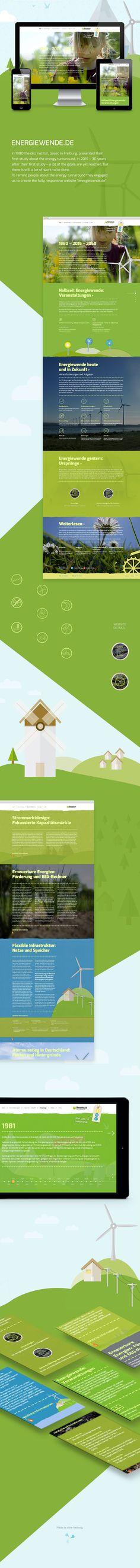 Website Design for Öko Institut Freiburg. www.energiewende.de  by www.ukw-freiburg.de  #webdesign #website #ukwfreiburg