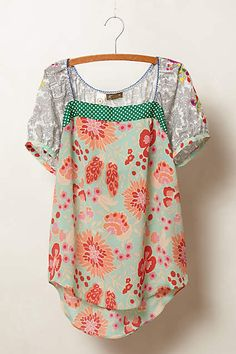 Archival Collection: Mixed Print Top - anthropologie.com