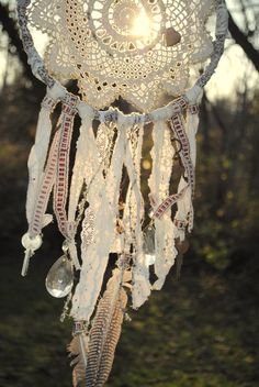 the vintage gypsy's romantic dream catcher complete by Run2theWild