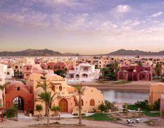 View of El Gouna town - egypt