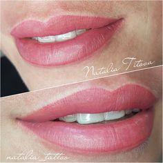 Ягодные губки сразу после процедуры #татуаж #губы #натальятитова #tattoo #permanent #pmu #eyes #spmu #makeup