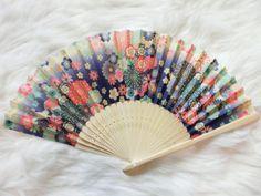 Japanese fan  Japanese fan Kimono_Hanbok accessories by kimonocuty