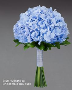Hottest 7 Spring Wedding Flowers to Rock Your Big Day---pale blue, lilac hydrangea wedding flowers, diy bridal bouquet with greenery, spring weddings, wedding blue Hottest 7 Spring Wedding Flowers to Rock Your Big Day Hydrangea Bridesmaid Bouquet, Hydrangea Bridal Bouquet, Blue Bouquet, Flower Bouquet Wedding, Bridal Bouquets, Hydrangea Wedding Bouquets, Cornflower Wedding Bouquet, Simple Bridesmaid Bouquets, Gypsophila Bouquet