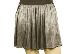 Girly, hip and modern Zadig & Voltaire mini skirt that features silver color with black elastic waist ribbon, 2 front pockets and funky pleats. Pair it with a simple top and heels or with a pair of sneakers and wear it from campus to club! Pleated Mini Skirt, Midi Skirt, Sequin Skirt, Zadig And Voltaire, Silver Color, Elastic Waist, Ribbon, Girly, Pockets