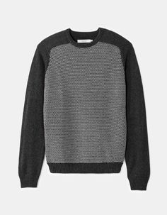 Celio Pull Col Rond Straight Chiné