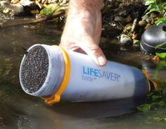 LIFESAVER: World's First Ultra Filtration Water Bottle   Inhabitat - Sustainable Design Innovation, Eco Architecture, Green Building