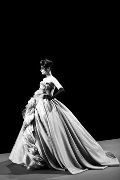 Dior Couture. Photography by James Bort