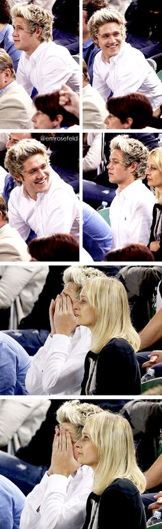 Hey lady, clam down! It's not like you're sitting next to Niall J Horan or anything