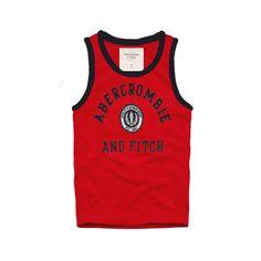 Cheap Abercrombie & Fitch Cotton Vest Mens AFC1079  http://abercrombie-sale.net/