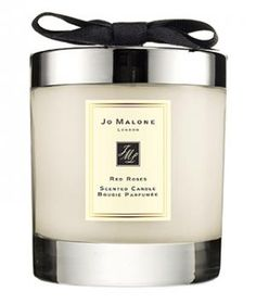 Jo Malone Red Roses Travel Candle | In honor of National Rose Month, we are serving up our favorite home items in the scent of the moment.