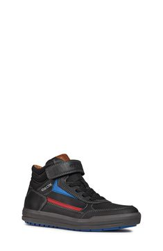 82767e2272 Geox Arzach Mid Top Sneaker (Toddler, Little Kid & Big Kid) | Nordstrom