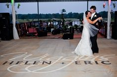 personalized dance floor. yes please