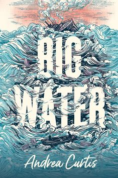 Big Water Book Cover Illustration | Orca Book Publishers | Jacqui Oakley