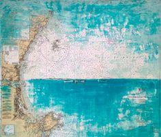 """Gulf of Maine"" by Jim Inzero   34"" x 38"""