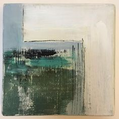 """27 Likes, 4 Comments - Sallie Otenasek (@woodscape_art) on Instagram: """"A second abstract heading to the beach gallery this week. . . . #emergingart #modernartist…"""""""