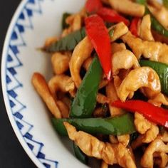 Chicken and Bell Pepper Garlic Soy Sauce Stir-fry Recipe - Yummy this dish is very delicous. Let's make Chicken and Bell Pepper Garlic Soy Sauce Stir-fry in your home! Healthy Dinner Recipes, Diet Recipes, Chicken Recipes, Soy Sauce Stir Fry, Stir Fry Recipes, Grilled Vegetables, Side Dishes Easy, Fried Chicken, Atkins