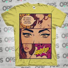 R$59,90 Camiseta Lady Gaga - ARTPOP Single