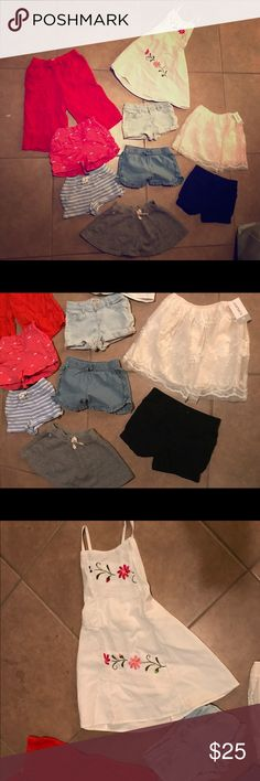Toddler GIRL bundle Summer toddler girl clothes all sizes 3/4T 9 items. Dress is brand new never worn bought in OAXACA super cute for summer. Palazzo orange pants / summer shorts / lace midi skirt . Perfect bundle for this heat! Brands include RALPH LAUREN OLD NAVY ZARA DISNEY CARTERS   Tags RL zara kids Disney Old navy Carters Shorts 3T 4T Lace midi skirt Palazzo pants Mexican dress Skirt Toddler clothes Ralph Lauren Shirts & Tops
