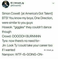 """G-guys, there is something wrong with Jin."" ""Oh shit"" Bts Namjoon, Kookie Bts, Seokjin, Hoseok, Taehyung, K Pop, Bts Scenarios, Bts Texts, Funny Kpop Memes"