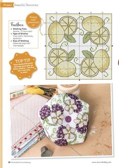 Pins And Needles (Amanda Gregory) From The World of Cross Stitching N°244 August 2016  2 of 5