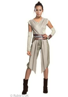 Rey Star Wars The Force Awakens, Adult Costume - Star Wars Costumes at Escapade™ UK