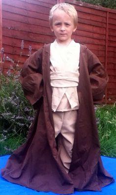 Obi Wan Kenobi Robe - Handmade In Any Size Kids Jedi robes Star Wars Costumes on Etsy, $60.54