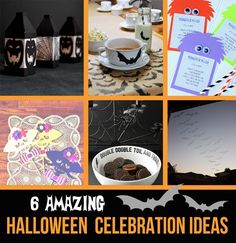 Batty Halloween Table Decor - Dolen Diaries