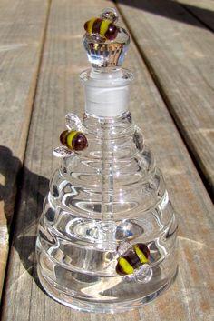 Beehive perfume bottle by SageStudios on Etsy