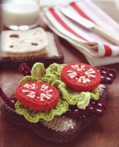 Crochet Food sandwich ad uncinetto
