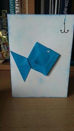 #happy #father'sday #blu #scrapbookyng #origami #papà #auguri