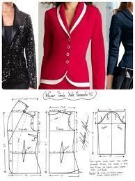 Amazing Sewing Patterns Clone Your Clothes Ideas. Enchanting Sewing Patterns Clone Your Clothes Ideas. Coat Patterns, Sewing Patterns Free, Clothing Patterns, Dress Patterns, Blazer Pattern, Jacket Pattern, Make Your Own Clothes, Diy Clothes, Costura Fashion
