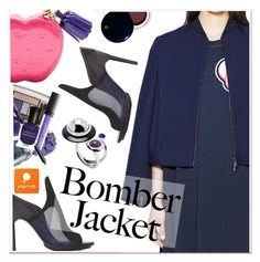 """""""Winter Style: Bomber Jackets"""" by paculi ❤ liked on Polyvore featuring 3.1 Phillip Lim, Clé de Peau Beauté, women's clothing, women, female, woman, misses, juniors, bomberjacket and popmap"""