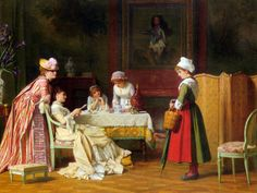 A Letter of Recommendation  Charles Baugniet