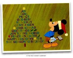 disney christmas cards - Google Search