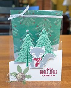 Window Sheets - SU - Cozy Critters, Peaceful Pines - Christmas, Winter