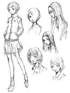 Chie Satonaka Sketches