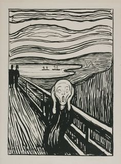 Edvard Munch The Cry. 1895