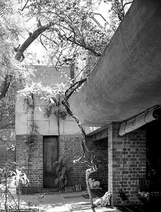 Le Corbusier, Villa de Madame Sarabhai, Ahmedabad, 1951