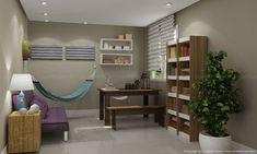 Como decorar a sala com uma rede de descanso?