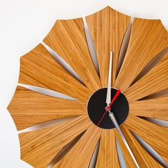 Modern Wall Clock // Bloom