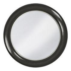 Howard Elliott Saturn Glossy Black Mirror