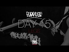 #RELPURPOSE | DAY 15 | LEGS - Run Everything Labs