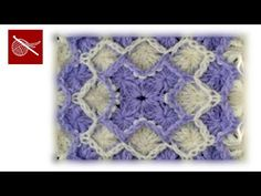 """[Free Pattern] Turn This Beautiful Bavarian Or """"Wool Eater"""" Stitch Into A Beautiful Baby Blanket Or Afghan - Knit And Crochet Daily"""