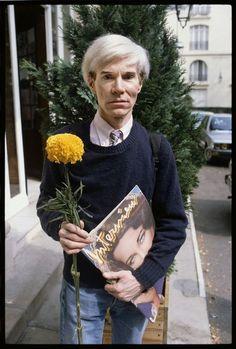 Andy Warhol tumblr   ANDY WARHOL, INTERVIEW MAGAZINE.   Portrait