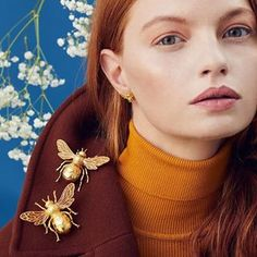 ✨Bill Skinner   New AW18 Collection ✨Now available in store & online! Plus FREE worldwide shipping all week! 🌍 Welcome to our next chapter......#BillSkinner #queenbee #statementjewellery #fashionphotography #fashionphotographer #aw18 #beejewellery #jewellerydesign #jewellerylovers