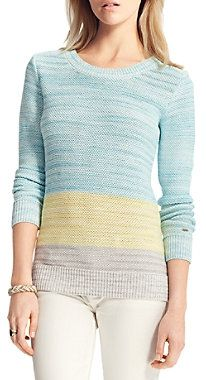 Stripe Sweater- the best time to wear a striped sweater, is all the time!