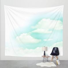 Cloud Wall Tapestry Large Size Wall Art Fine Art by MGMart on Etsy