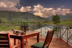 Royal Coachman offers luxury self-catering accommodation next to a hectare dam which is well-stocked with rainbow and brown trout. Catch and Built In Braai, Bed Next, Fly Fishing Tackle, Outside Furniture, Free State, Brown Trout, Heated Towel Rail, Loft Room